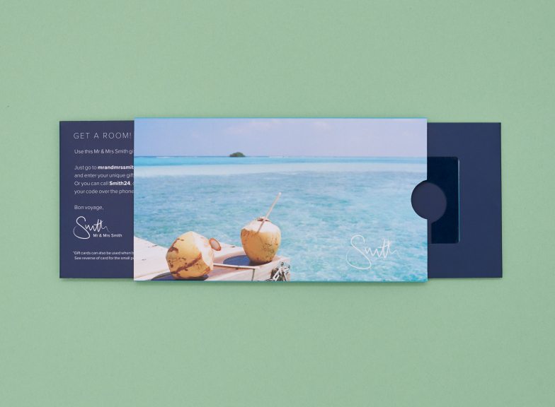 Polly Brown 'Coconuts' gift card