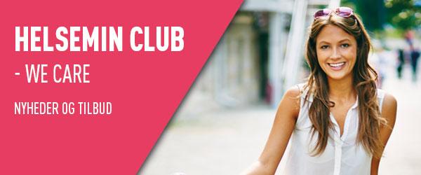 Helsemin Club - Nyheder og tilbud