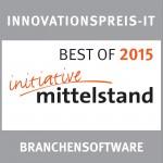 Award - BestOf Branchensoftware 2015