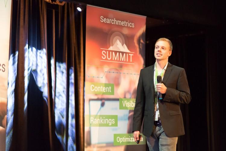 Searchmetrics Summit Frank Hohenleitner