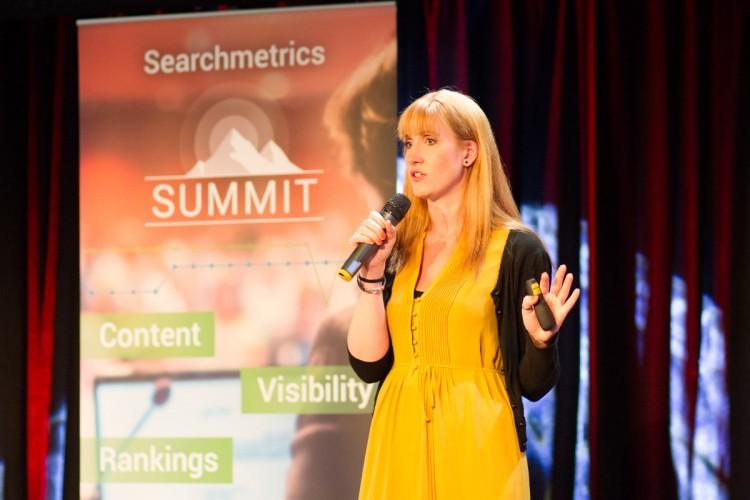 Searchmetrics Summit_Stefanie Hiegemann