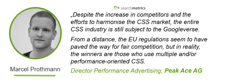 Goole-Shopping-Whitepaper Searchmetrics - Quote by Marcel Prothmann