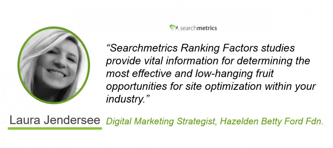Searchmetrics Health Ranking Factors Statement-Laura Jendersee