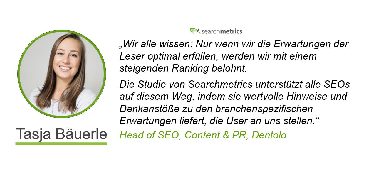 Searchmetrics Ranking-Faktoren-Statement-Tasja Bäuerle