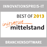 "INNOVATIONSPREIS-IT 2013, Kategorie ""Branchensoftware"""