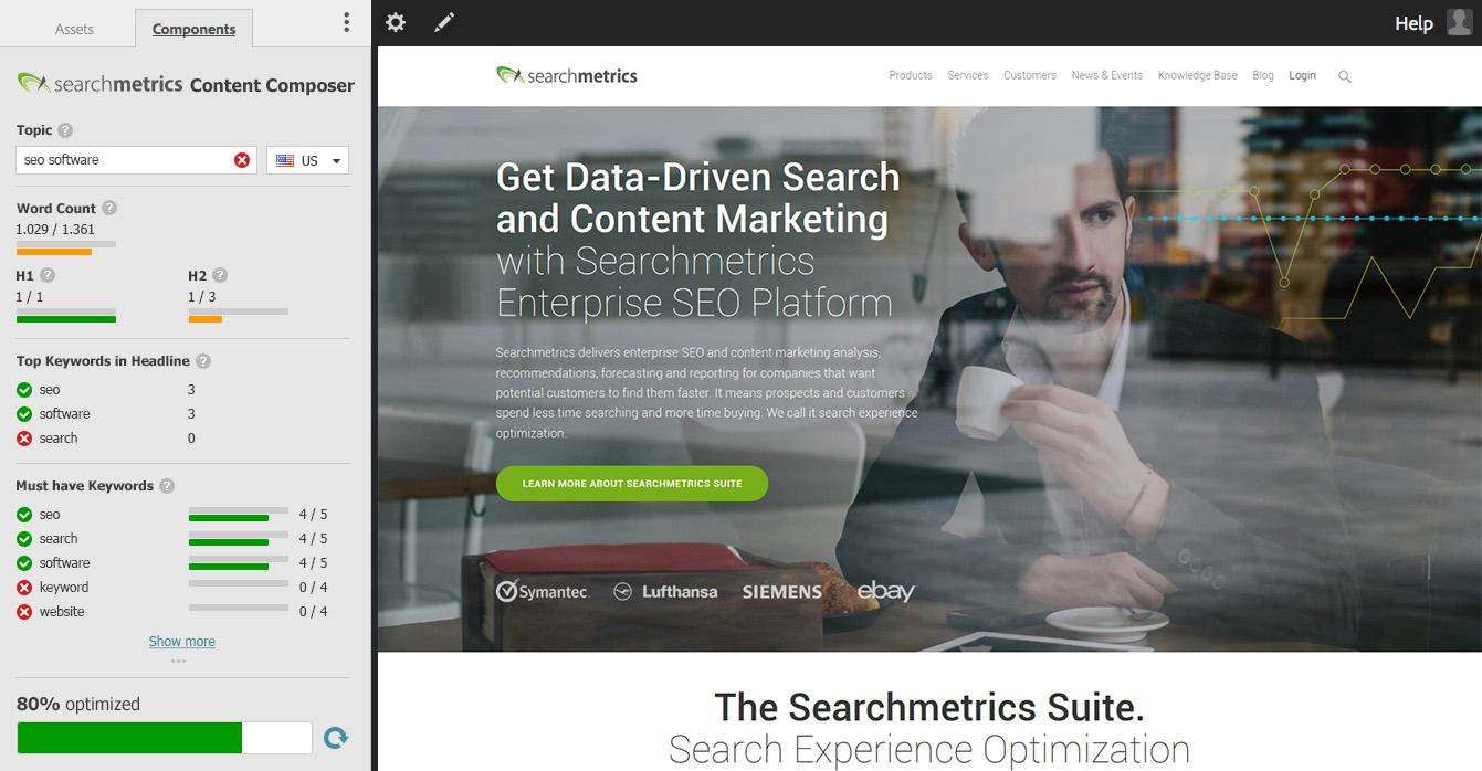 Searchmetrics Content Composer