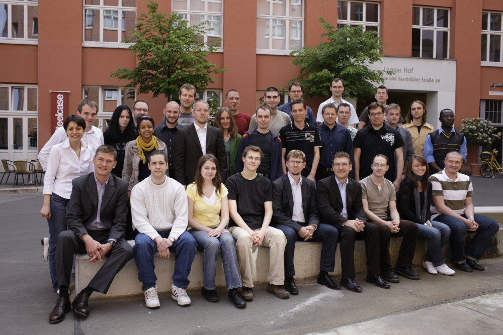 Searchmetrics Team avant 2007