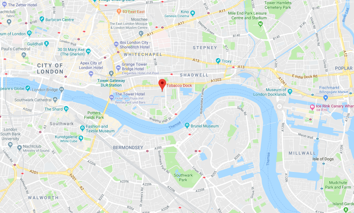 Searchmetrics Summit 2018 in London: Location