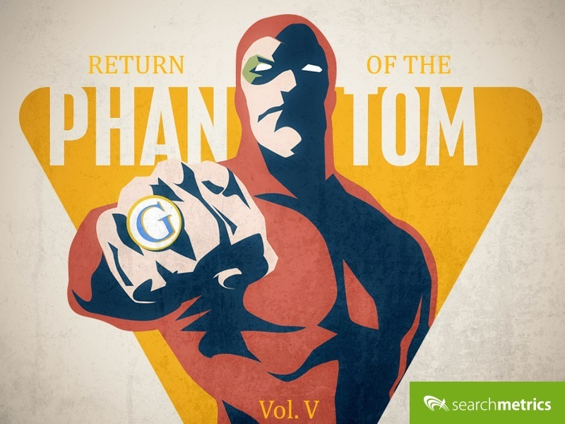 Searchmetrics Glossar: Google Phantom Update