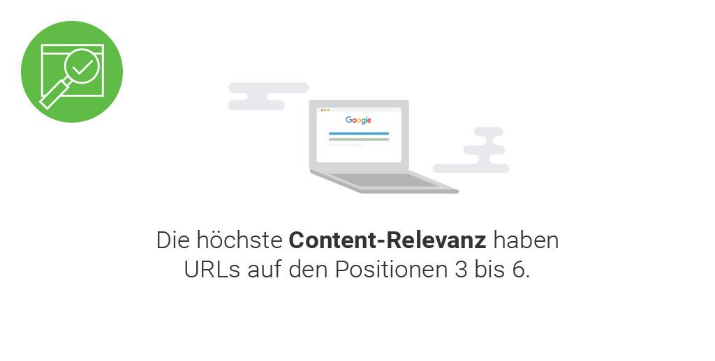 Searchmetrics Ranking-Faktoren: Content-Relevanz
