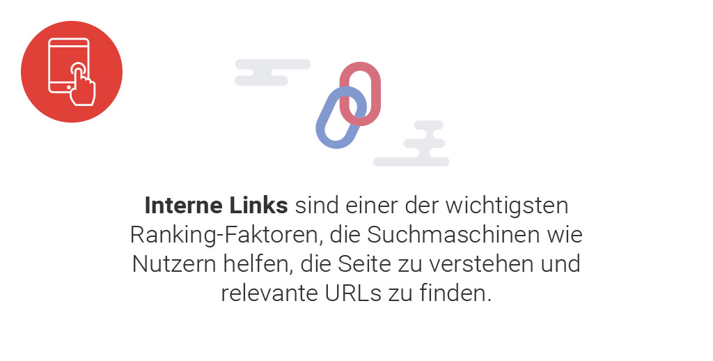 Searchmetrics Ranking-Faktoren: Interne Links