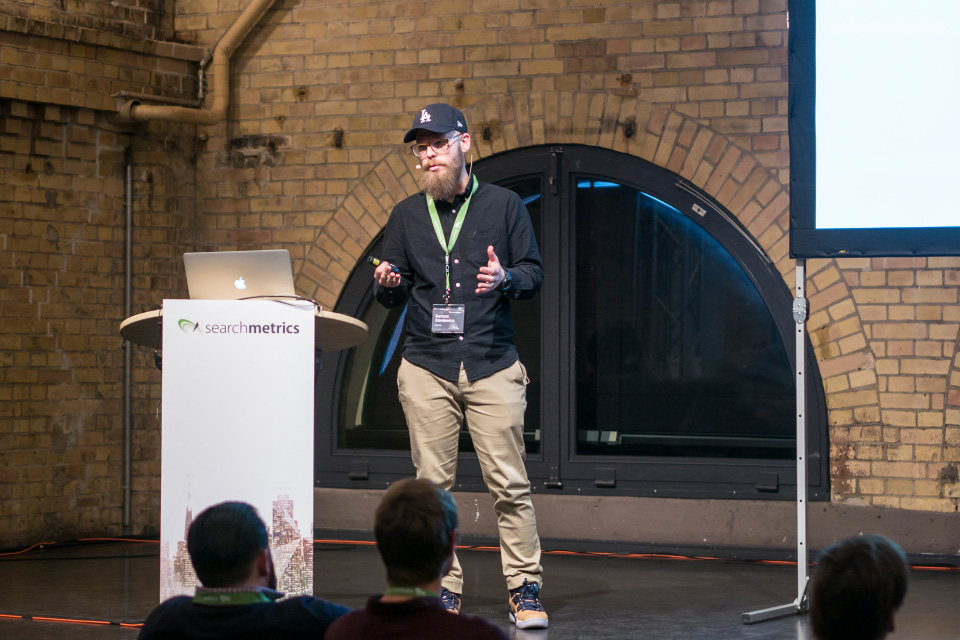 Searchmetrics Summit Berlin 2017: Bartosz Goralewicz