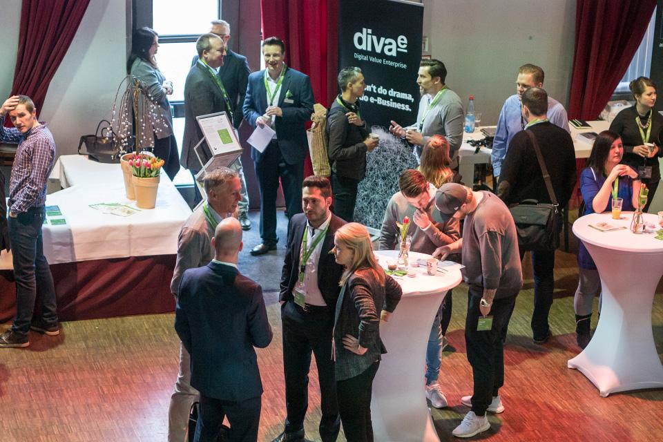 Searchmetrics Summit Berlin 2017: Empfangshalle