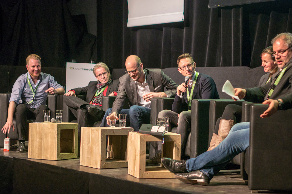 Searchmetrics Summit Berlin 2017: Panel Discussion