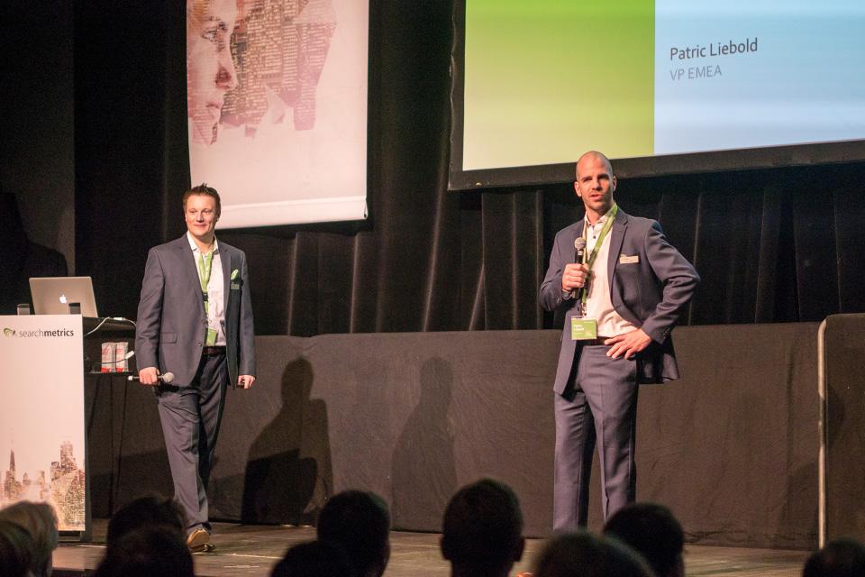 Searchmetrics Summit Berlin 2017: Patric Liebold & Constantin Bohn