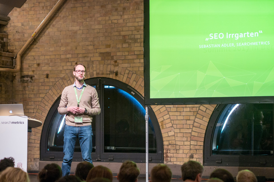 Searchmetrics Summit Berlin 2017: Sebastian Adler