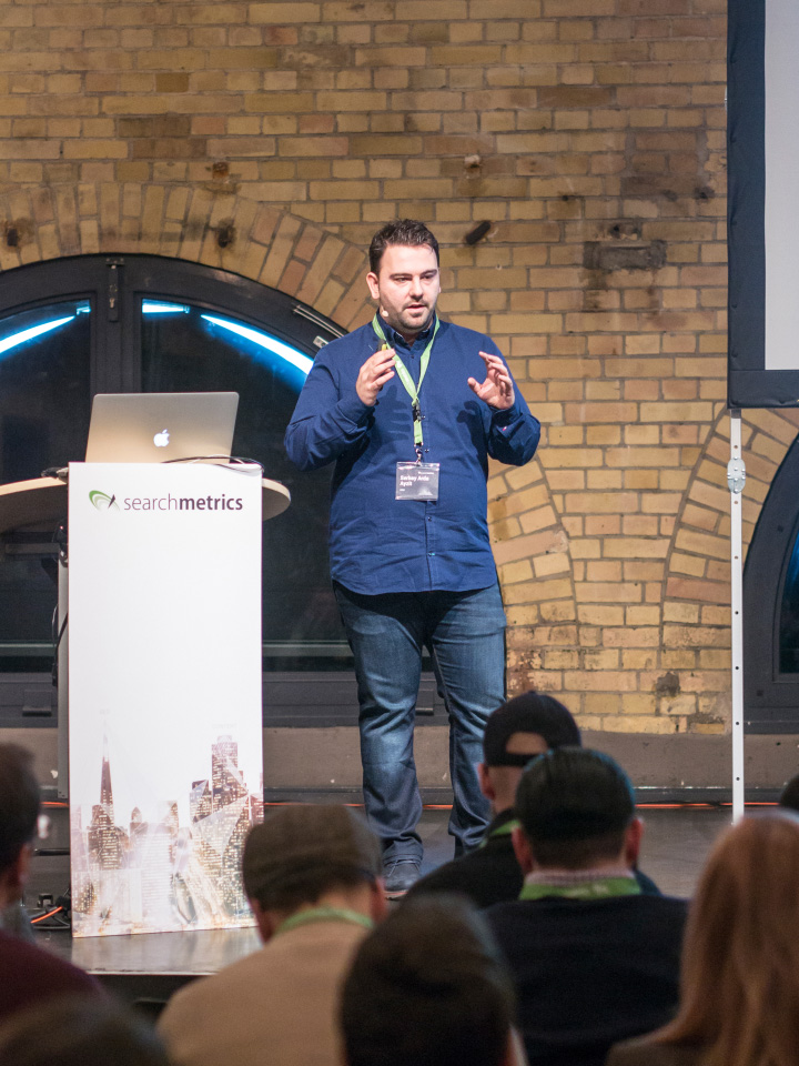 Searchmetrics Summit Berlin 2017: Serbay Arda Ayzit