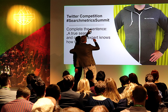 Searchmetrics Summit 2018: Twitter Competition