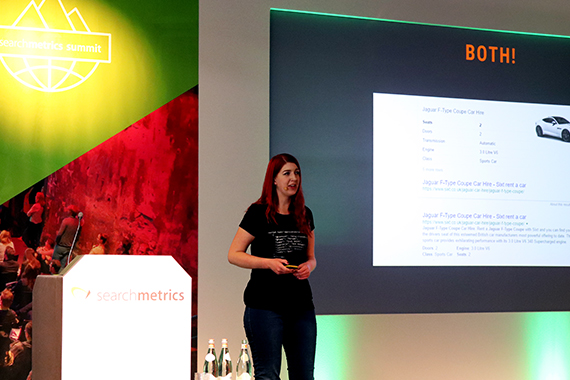 Searchmetrics Summit 2018: Präsentation Izzy Smith