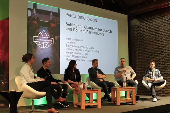 Searchmetrics Summit 2018: Panel Diskussion