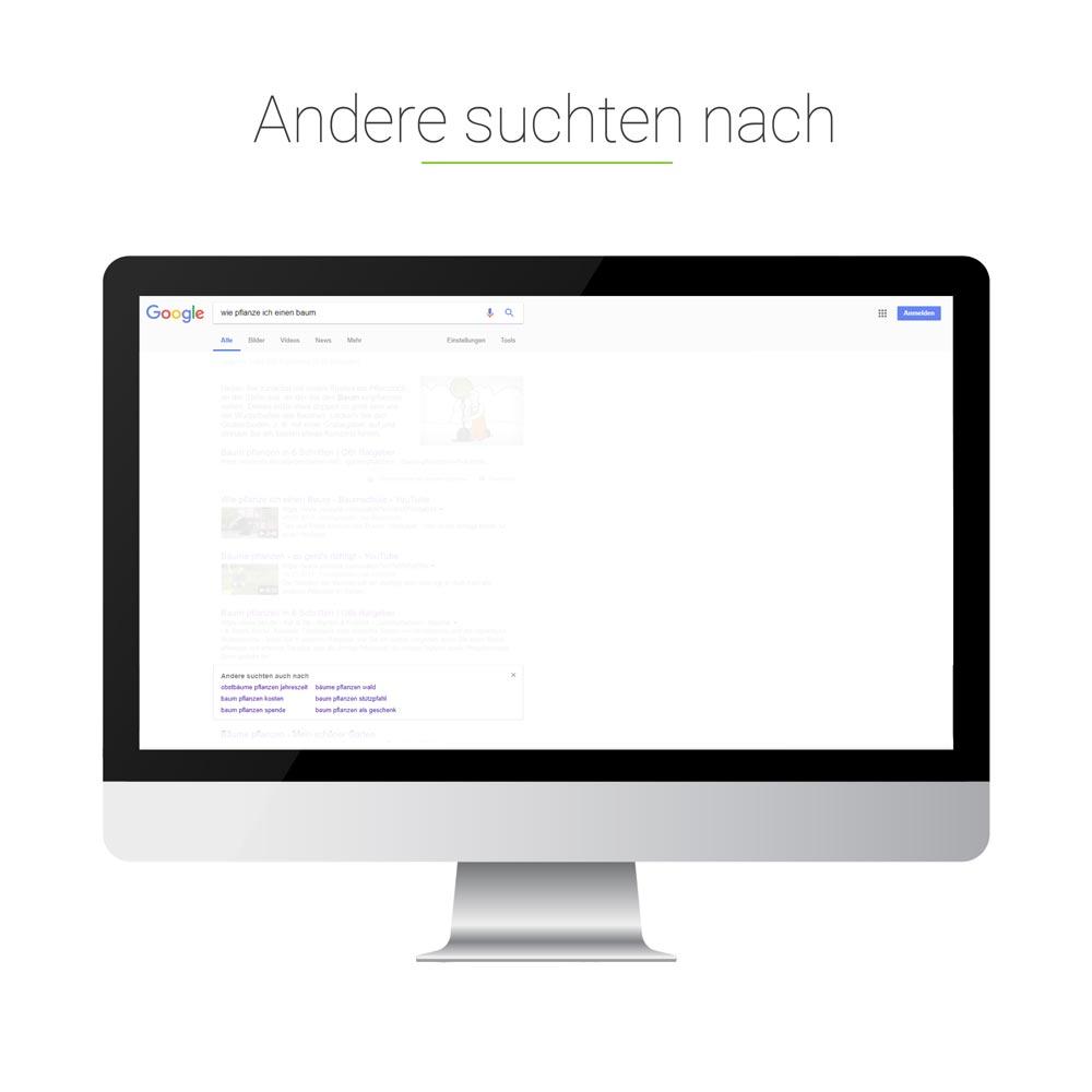 Universal Search: Andere suchten nach
