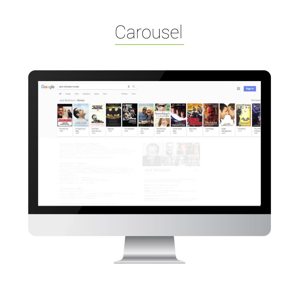 Universal Search: Carousel