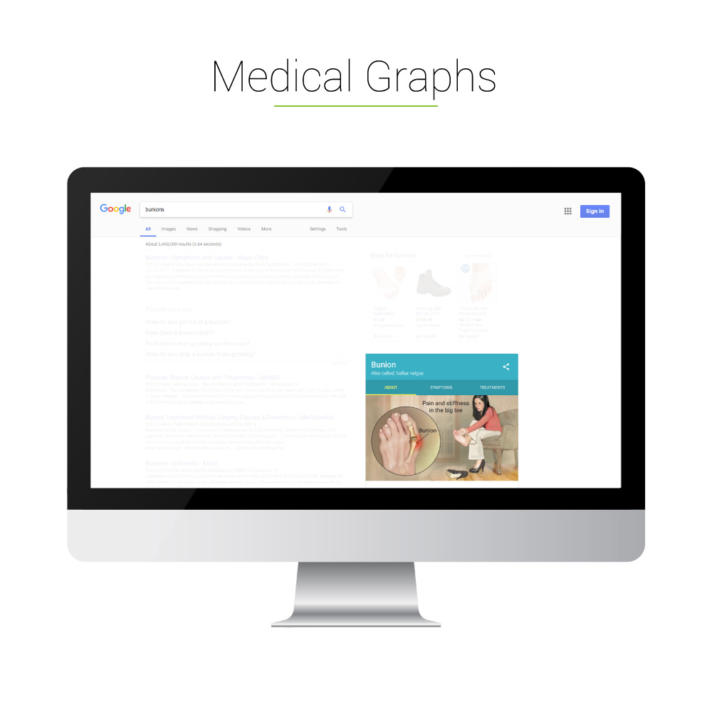 Universal Search: Medical Graphs