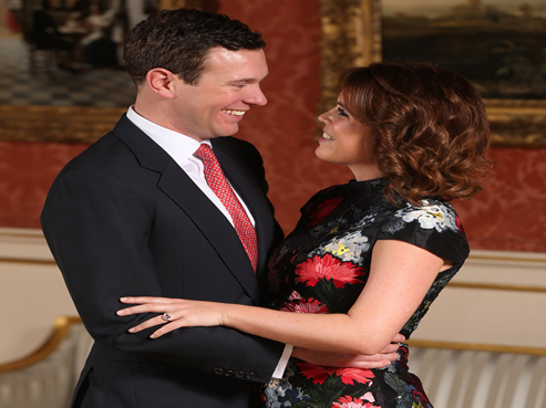 Princess Eugenie and Mr Jack Brooksbank