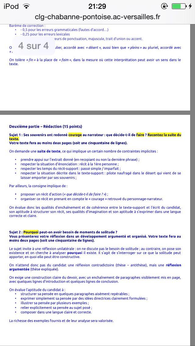 Exemple De Sujet De Reflexion 3eme - Exemple de Groupes