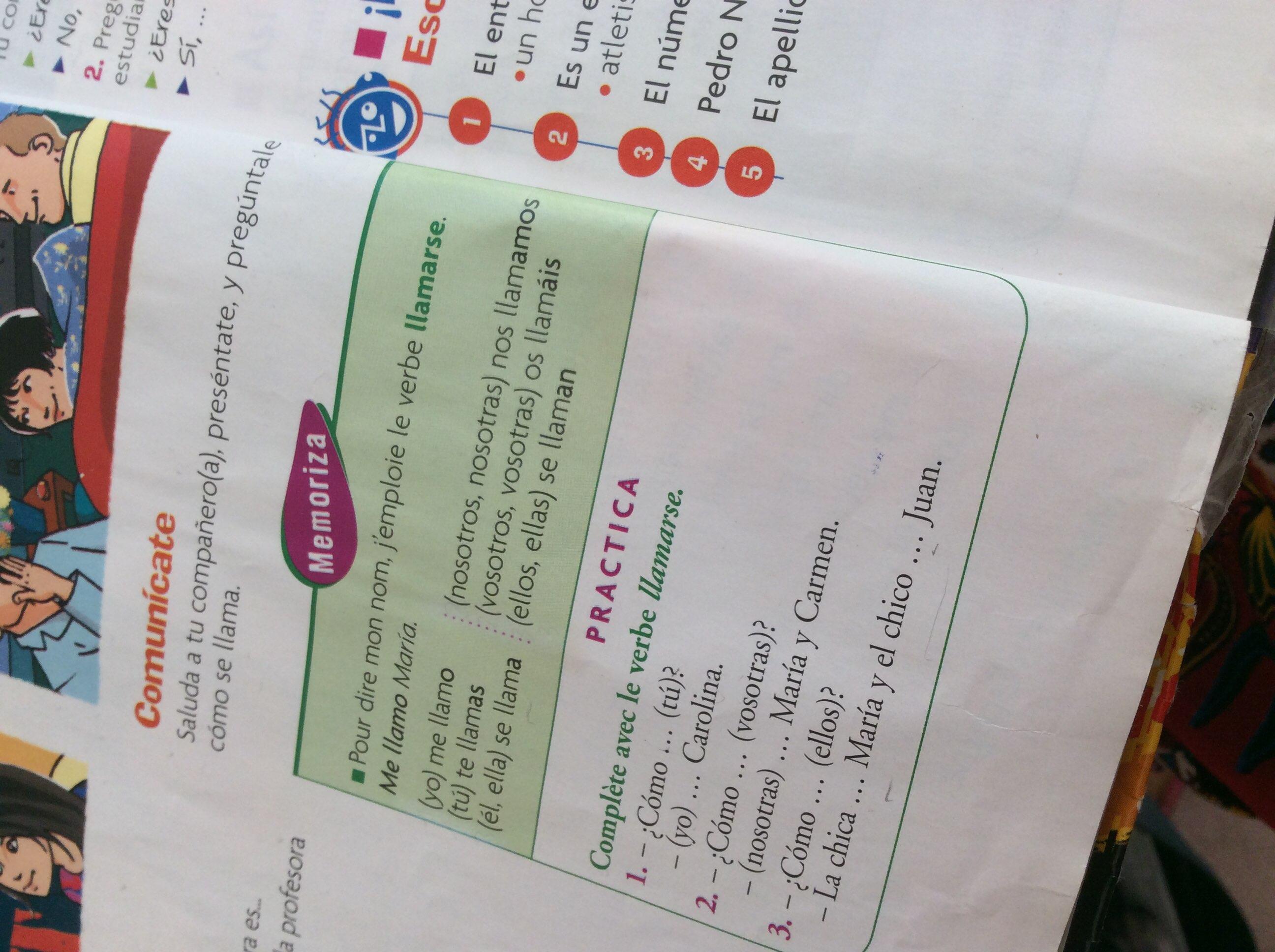 Espagnol Digischool Devoirs