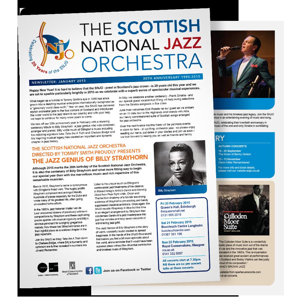 SNJO newsletter, January 2015