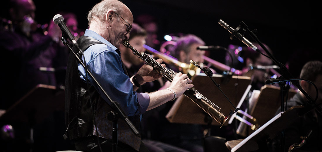 David Liebman with the SNJO