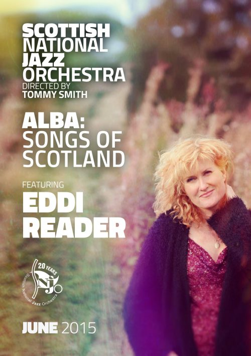 SNJO programme Alba Songs Of Scotland with Eddi Reader