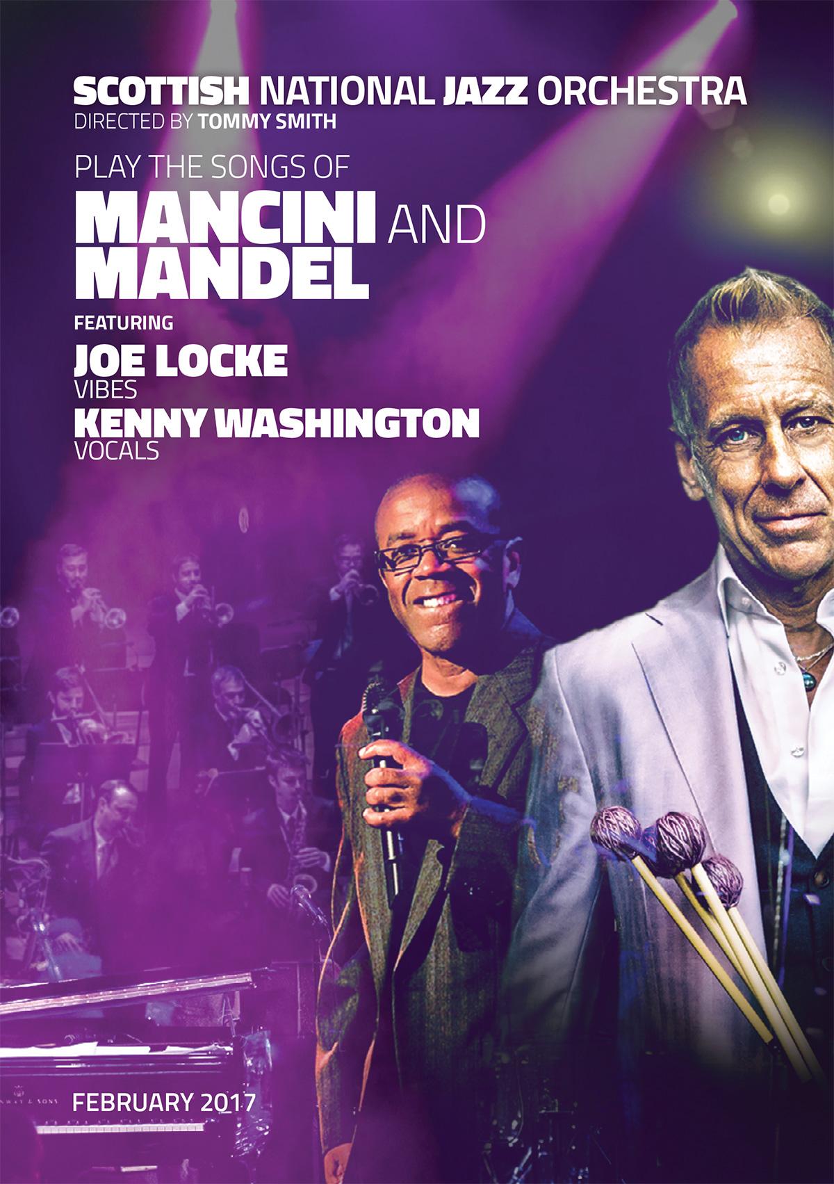 programme Joe Locke, Mancini, Mandel, 2017