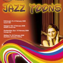 SNJO Jazz-Toons 20018 programme