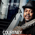 SNJO concert programme: Courtney Pine: Revisiting Coltrane
