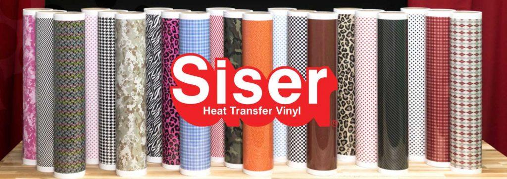 Vinyl fra Siser finner du hos Kreativshop på Design By Me.