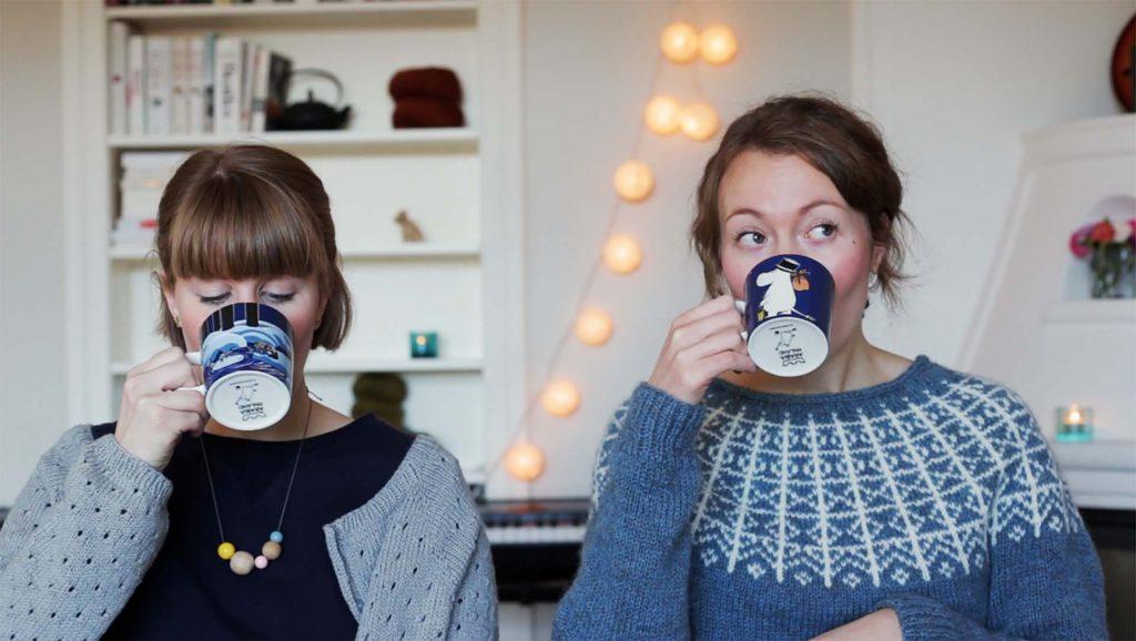 Hør Kristin og Ingvild fra Strikketerapi på Design By Me