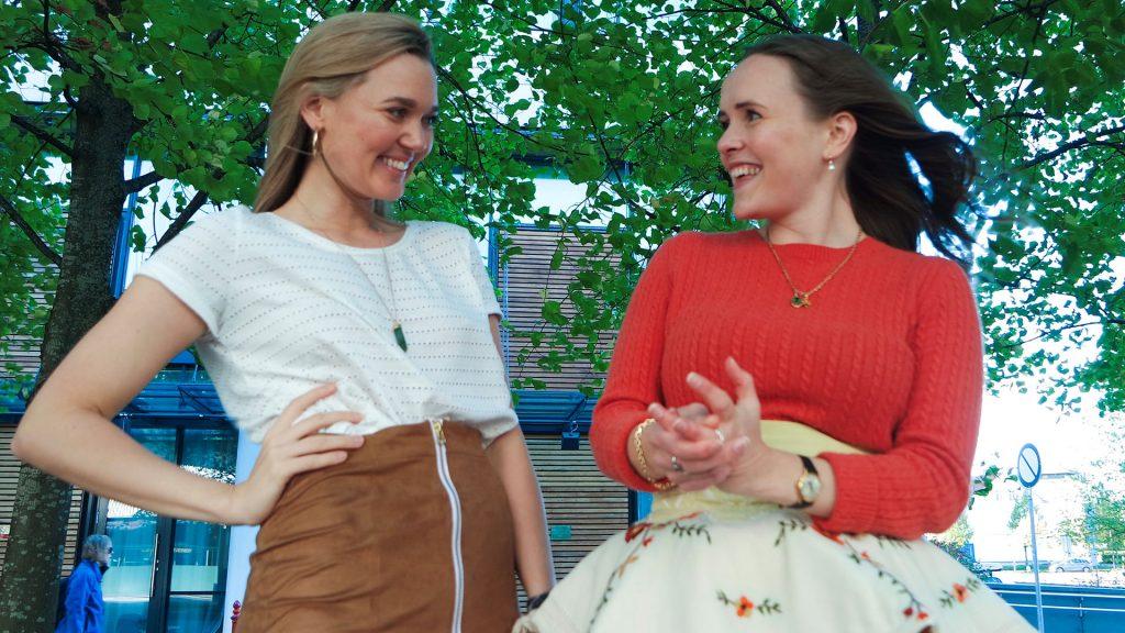 Ingrid Bergtun og Ingrid Vik Lysne deler herlig syinspirasjon på Design By Me.
