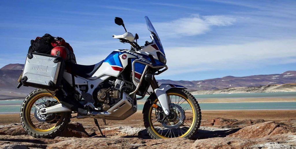 Honda CRF1000L Africa Twin Adventure Sports kan prøvekjøres på MC-messens Vårmønstring 2018