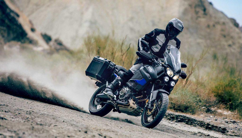 Yamaha XT1200ZE Super Tenere / Raid Edition kan prøvekjøres på MC-messens Vårmønstring 2018