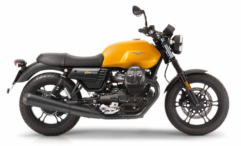 Moto Guzzi V7 Stone kan prøvekjøres på MC-messesn Vårmønstring 2018
