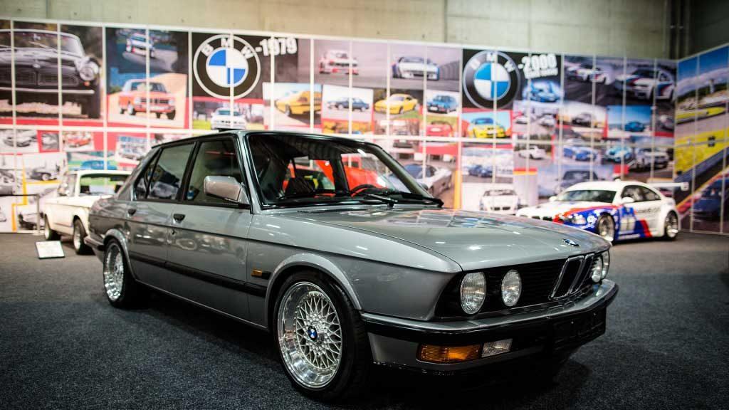 E30 Meet på Oslo Motor Show.