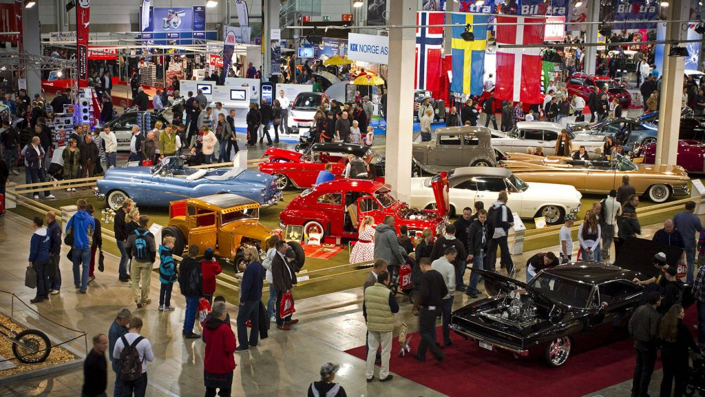 Skandinavias Flotteste Biler på Oslo Motor Show