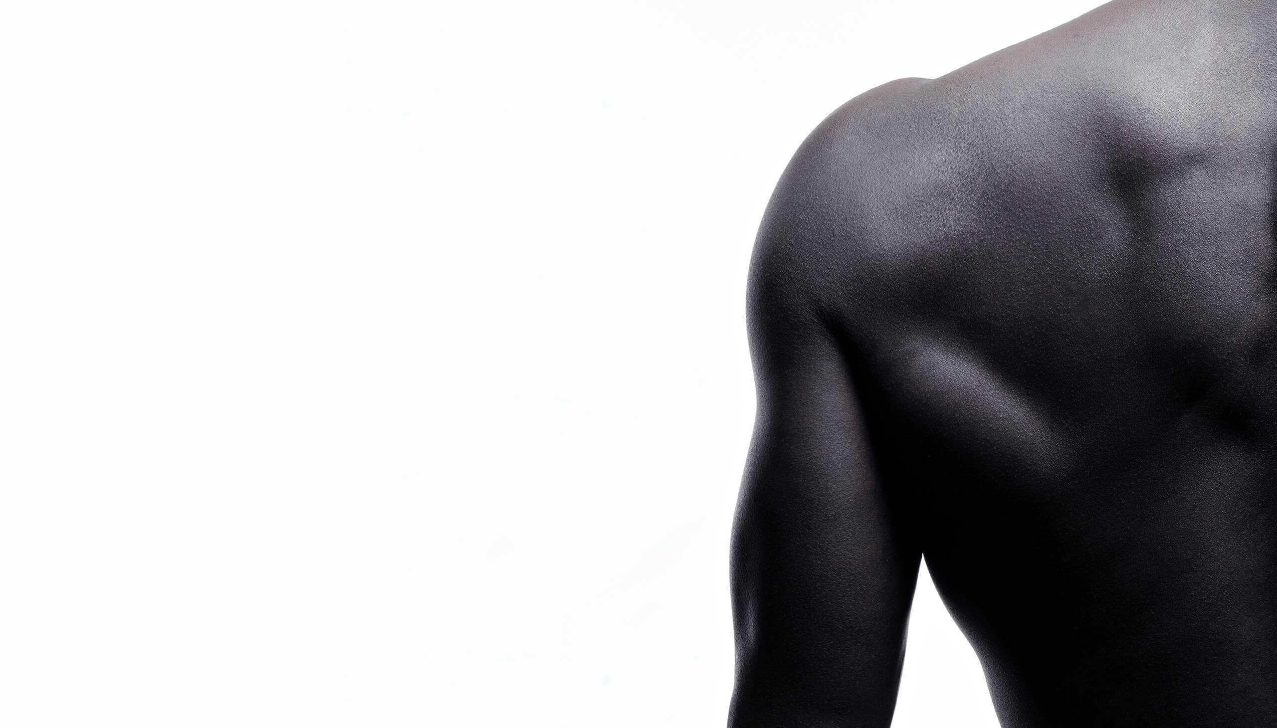 Athletic shoulder - back