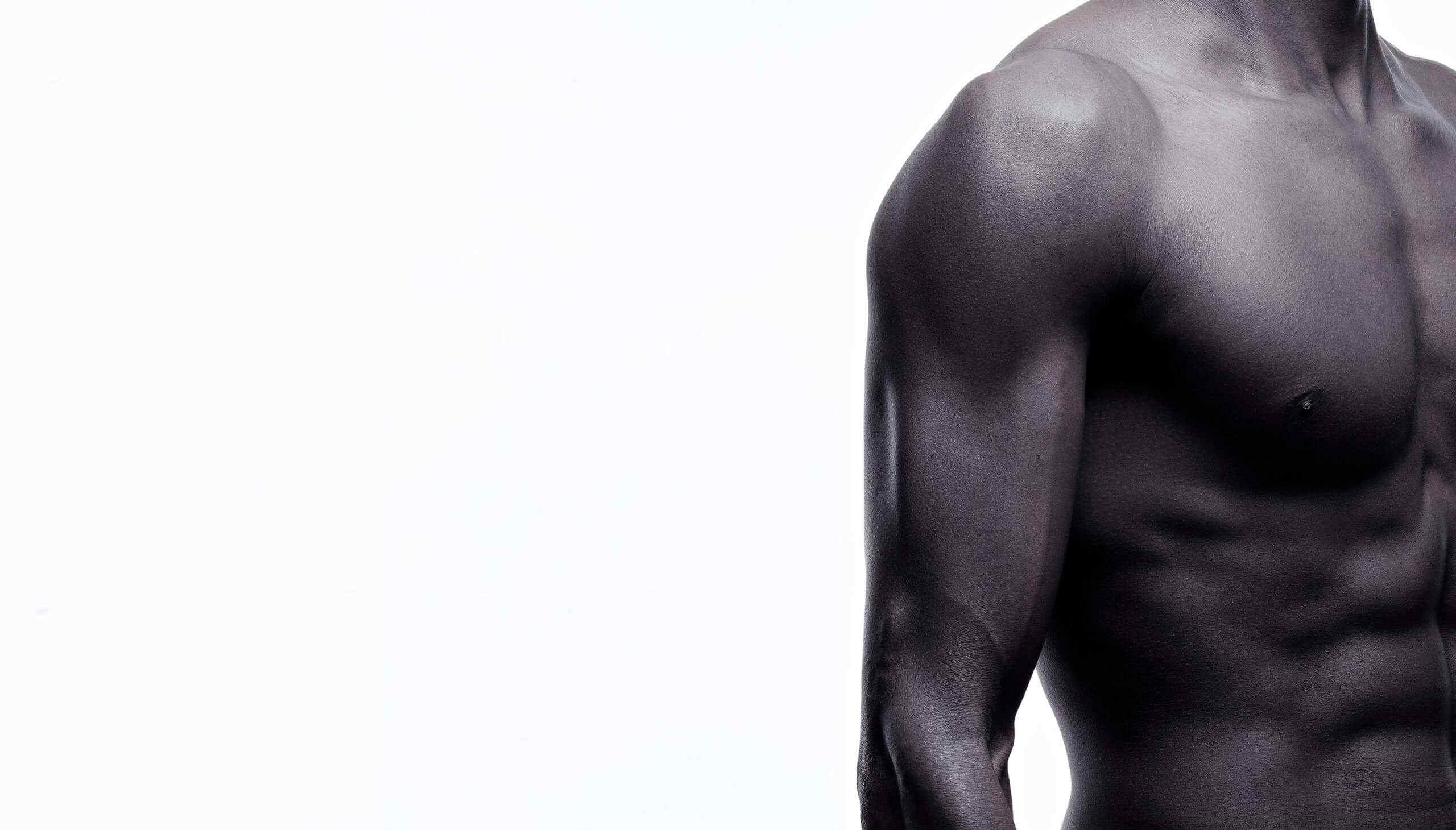 Athletic shoulder - front/side
