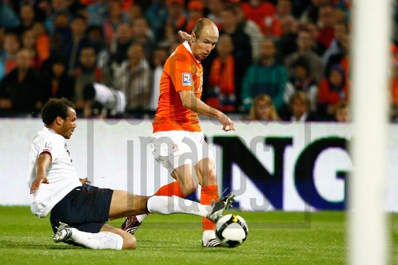 Soccrates Images - Holland Arjen Robben (R) Noorwegen Daniel