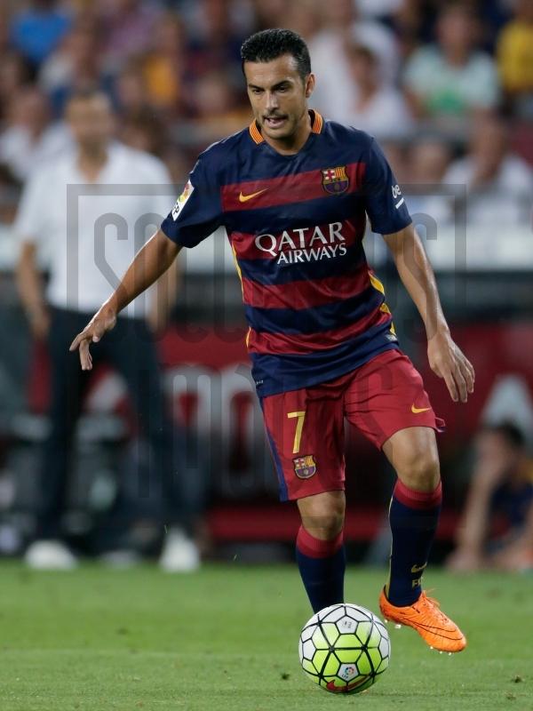 Soccrates Images - Pedro Rodriguez Ledesma of FC Barcelona