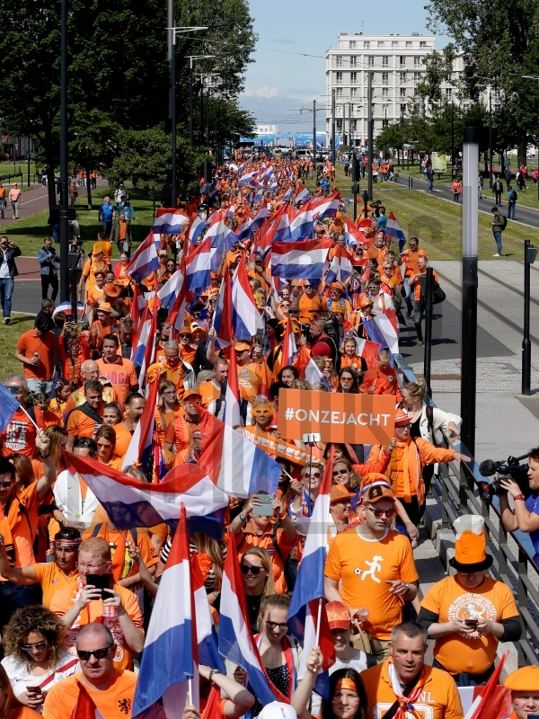 Fanzone and Parade Holland Supporters Le Havre
