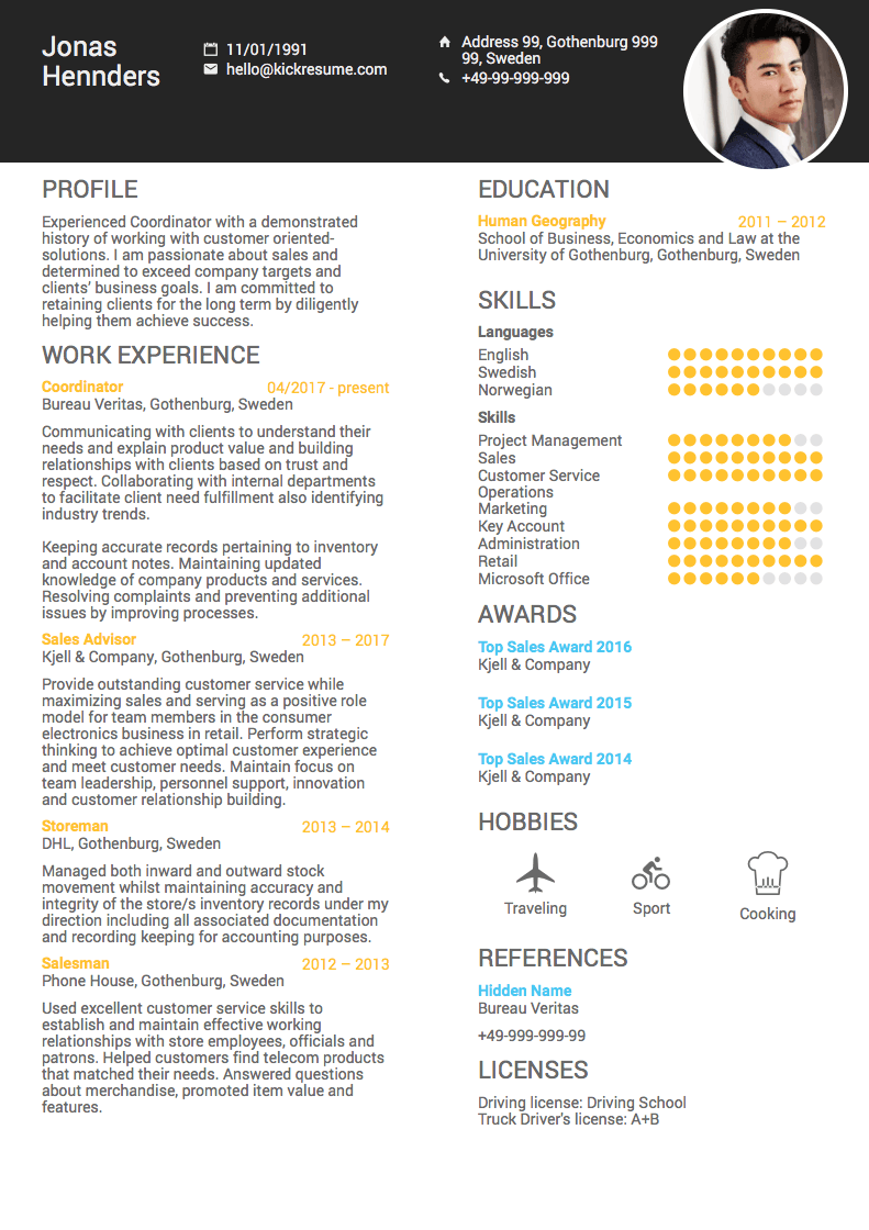 resume summary of skills examples